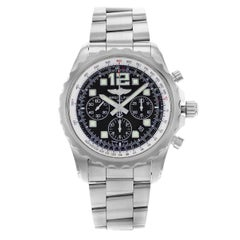 Breitling Chronospace Black Dial Steel Automatic Men's Watch A2336035/BA68-167A