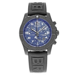 Breitling Chronospace Evo Nacht blaues Zifferblatt V7333010/C939-152S Titan Herrenuhr