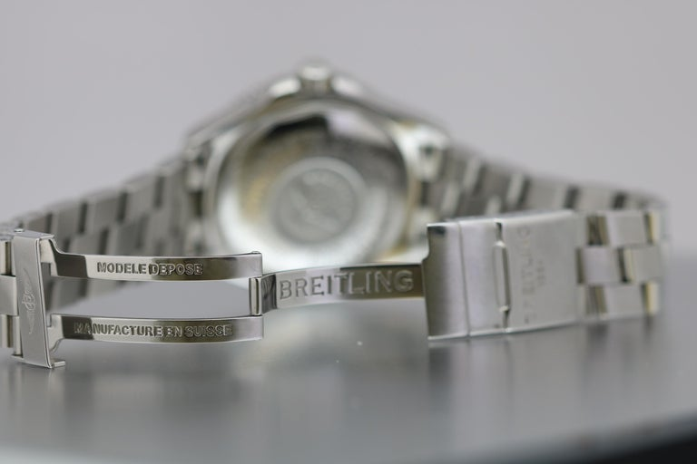 Breitling SuperOcean 42 Stainless Steel Automatic Ref A17364 circa 2010 For Sale 2