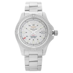 Breitling Colt 41 Stainless Steel White Dial Automatic Watch A1731311/G820-182A