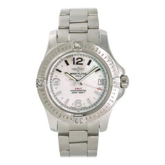 Breitling Colt A74389, Grey Dial, Certified and Warranty
