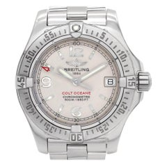 Breitling Colt A77380, White Dial, Certified and Warranty