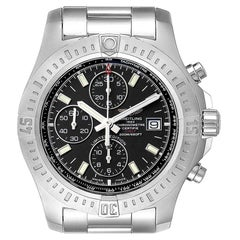 Breitling Colt Black Dial Stainless Steel Men's Watch A13388 Box Papers