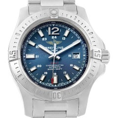 Breitling Colt Blue Baton Dial Automatic Steel Men's Watch A17388