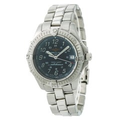 Breitling Colt Ocean A64350 Unisex Quartz Watch Blue Dial Stainless Steel