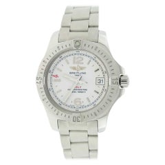 Breitling Colt Oceane Cream Dial Stainless Steel Ladies Watch A77388