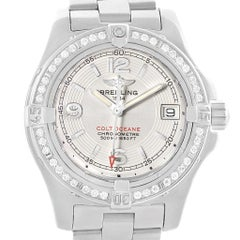 Breitling Colt Oceane Stainless Steel Diamond Ladies Watch A77380
