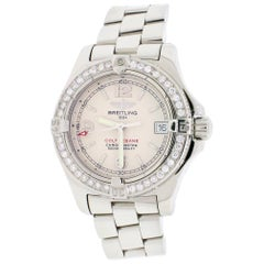 Breitling Colt Oceane Stainless Steel Ivory Dial Ladies Watch A77380
