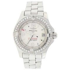 Breitling Colt Oceane Stainless Steel Silver Dial Ladies Watch