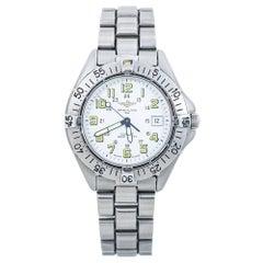 Breitling Colt Quartz A57035 White Dial Mens Date Watch