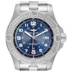 Breitling Colt Quartz Blue Dial Stainless Steel Men's Watch A74380