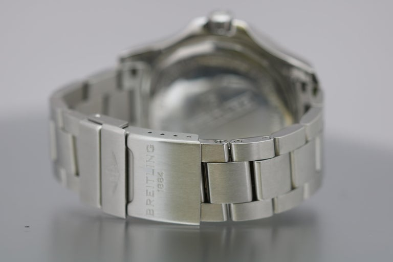 Breitling Colt Stainless Steel Ref A17388 Automatic Wristwatch For Sale 1