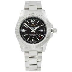 Breitling Colt Steel Black Dial Quartz Men's Watch A7438811/BD45-173A