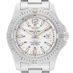 Breitling Colt White Dial Automatic Steel Men's Watch A17388 Box Card