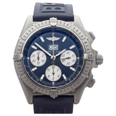 Breitling Crosswind A4435512/C516 Men's Stainless Steel Big Date Chronograph