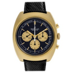Breitling Duograph Unknown, Case, Certified and Warranty