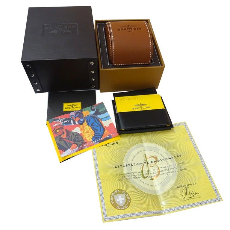 Breitling Exospace Black Titanium VB5510H2/BE45 Men's Watch in Titanium For Sale 2