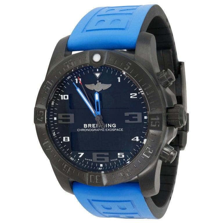 Breitling Exospace Black Titanium VB5510H2/BE45 Men's Watch in Titanium For Sale
