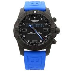 Breitling Exospace Titanium Black Dial Quartz Men's Watch VB5510H2/BE45-235S