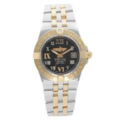 Breitling Galactic 30 18K Rose Gold Steel Quartz Ladies Watch C71340L2/B952-368C