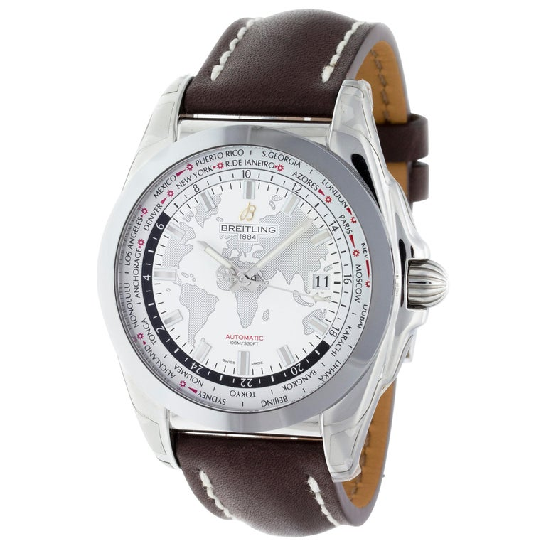 Breitling Galactic 44 Unitime WB3510U0/A777-437X For Sale