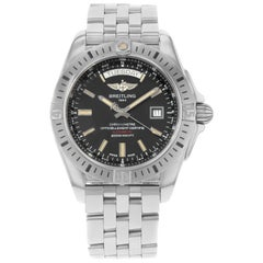 Breitling Galactic Day Date Steel Automatic Men's Watch A45320B9/BD42-375A