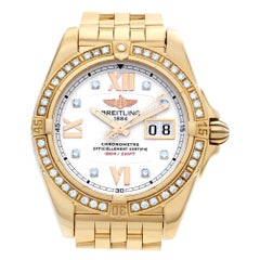 Breitling Galactic h49350, White Dial, Certified and Warranty