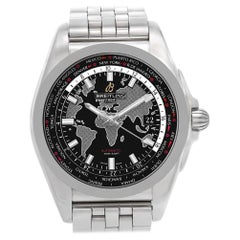 Breitling Galactic WB3510, Black Dial, Certified and Warranty