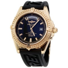 Breitling Headwind 18 Karat Yellow Gold Men's Watch