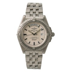 Breitling Headwind Day-Date A45355 Mens Automatic Watch Stainless