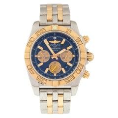 Breitling Men's Chronomat Automatic Watch SS and 18 Karat Rose Gold CB0110