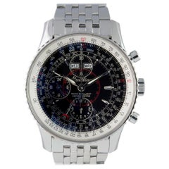 Breitling Montbrillant A21330, White Dial, Certified and Warranty