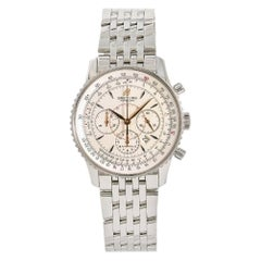 Breitling Montbrillant A41370, Beige Dial, Certified and Warranty