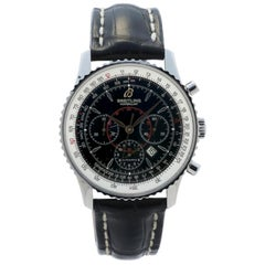Breitling Montbrillant A41370, Silver Dial, Certified and Warranty