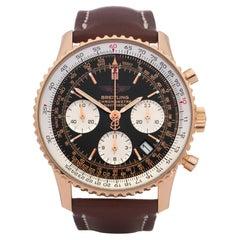 Breitling Navitimer 0 R23322 Men Rose Gold 18K Watch