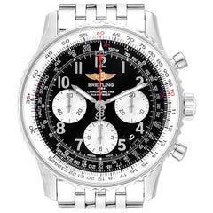 Breitling Navitimer 01 Black Dial Steel Men's Watch AB0120