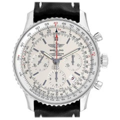 Breitling Navitimer 01 Silver Dial Limited Edition Watch AB0123 Box Papers