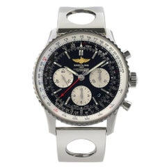 Breitling Navitimer 01 Steel Black Dial Automatic Men's Watch AB012012/BB01-222A