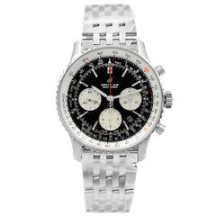 Breitling Navitimer 1 Steel Black Dial Automatic Men's Watch AB012121/B1A1-450A