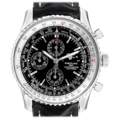 Breitling Navitimer 1461 Chrono Moonphase Limited Edition Watch A19370 Box Paper