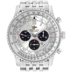 Breitling Navitimer 50th Anniversary Silver Dial Men's Watch A41322