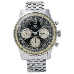 Breitling Navitimer 806, Black Dial, Certified and Warranty