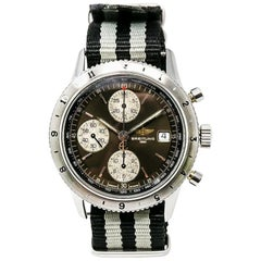 Breitling Navitimer A13023, Black Dial, Certified and Warranty