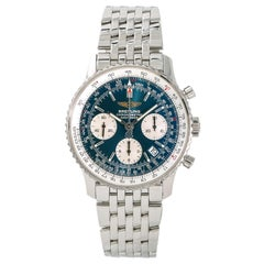 Breitling Navitimer A23322 with Papers Men's Automatic Watch Chronograph SS