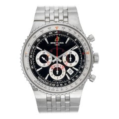 Breitling Navitimer A23351, Black Dial, Certified and Warranty