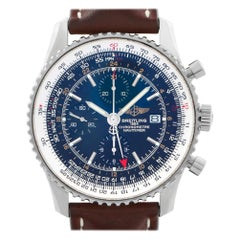 Breitling Navitimer A24322, Black Dial, Certified and Warranty