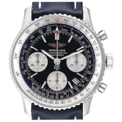 Breitling Navitimer Black Dial Chronograph Men's Watch A23322 Box Papers