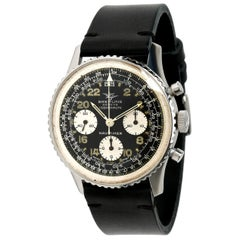 Breitling Navitimer Cosmonaut 809 Men's Watch in Stainless Steel