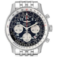 Breitling Navitimer Cosmonaute 02 Limited Edition Watch AB0210 Box Papers