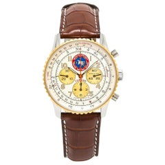 Breitling Navitimer D30022, Silver Dial, Certified and Warranty